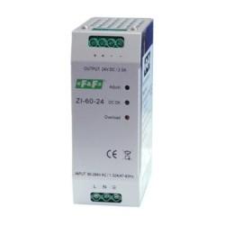 Імпульсний промисловий блок живлення ZI-60-24