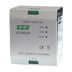 Імпульсний промисловий блок живлення ZI-240-24