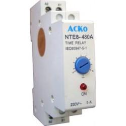 Реле времени NTE8-480A задержка отключения 30-480 сек