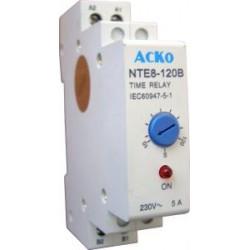 Реле времени NTE8-120В задержка включения 10-120 сек