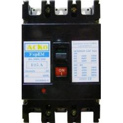 Автоматический выключатель ВА-2004/250 3P 125А