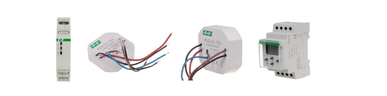 Драйвери освітлення - блоки живлення, підсилювачі сигналів