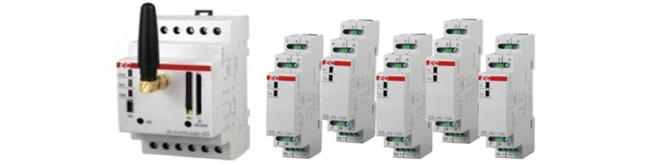 Додаткові модулі розширення для ПЛК, безперебійне живлення ПЛК.