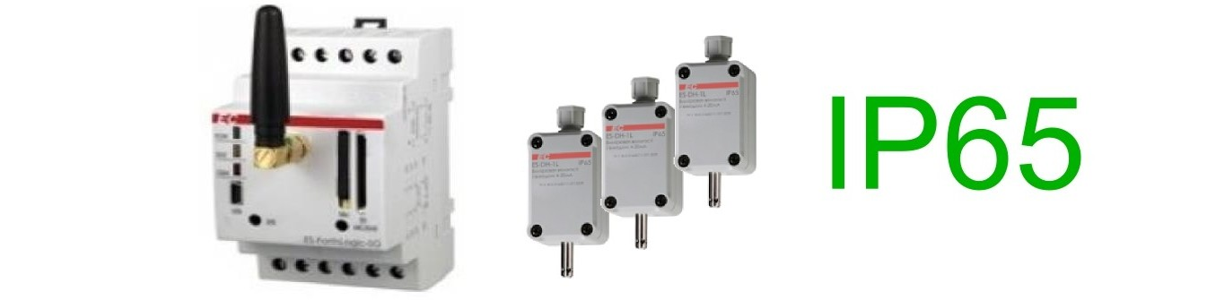 Вимірювальні переобразователі температури і вологості для ПЛК