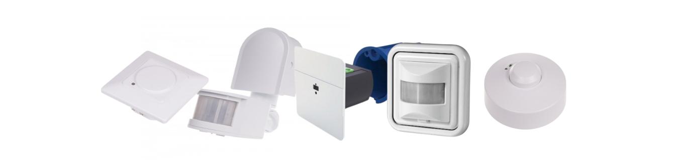 Инфракрасные датчики движения  и микроволновые датчики движения